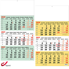 shipping calendar 3 months 2021 Business
