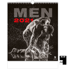 Wall calendar 2021 Pin-Up Men