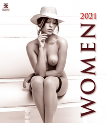 Wall calendar 2021 Pin-up Women 13p 45x59cm Cover