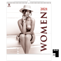 Wall calendar 2021 Pin-Up Women